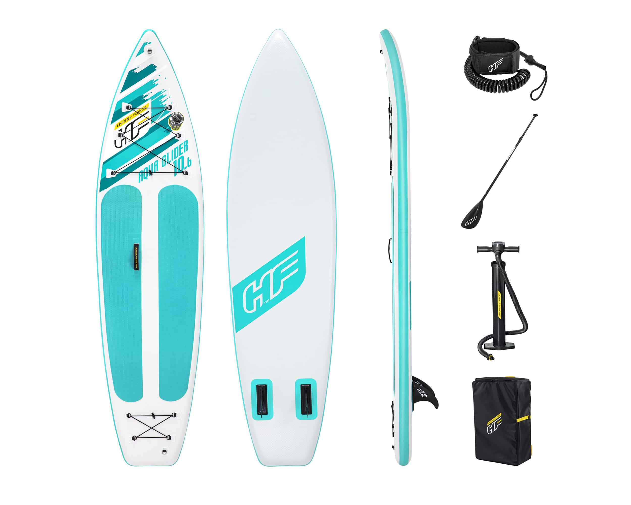 Hydro-Force Aqua Glider Sup Brett Paddleboard