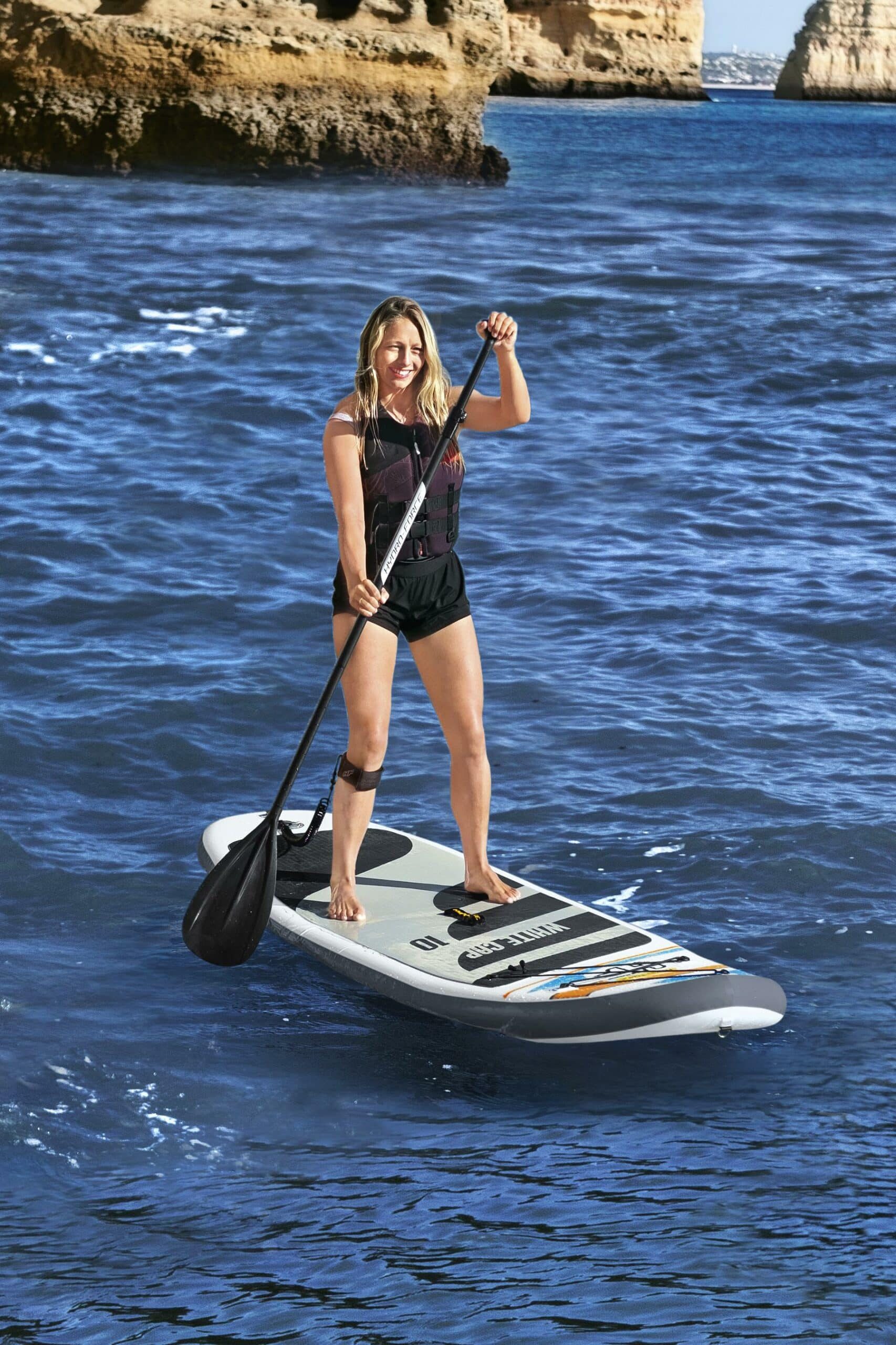 Hydro-Force Paddle Board White Cap