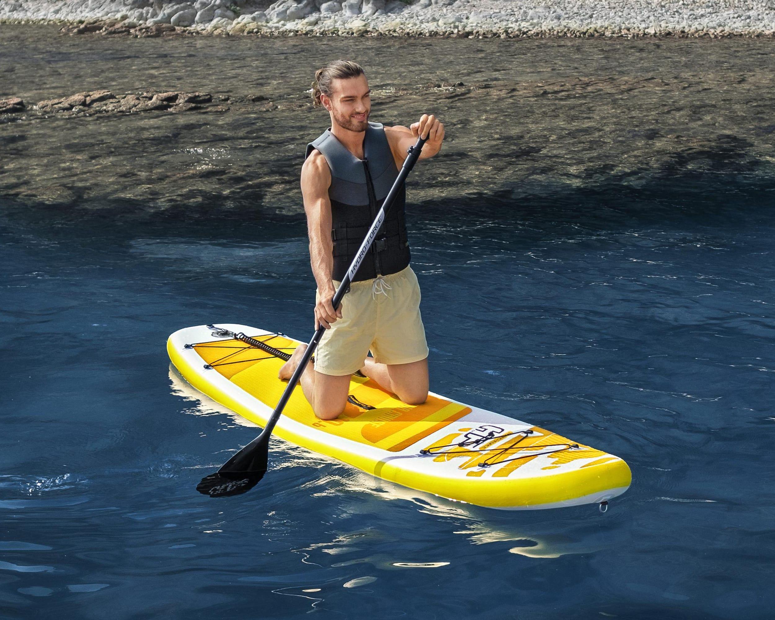 Hydro-Force Sup Brett Paddle Board Aqua Cruise Set