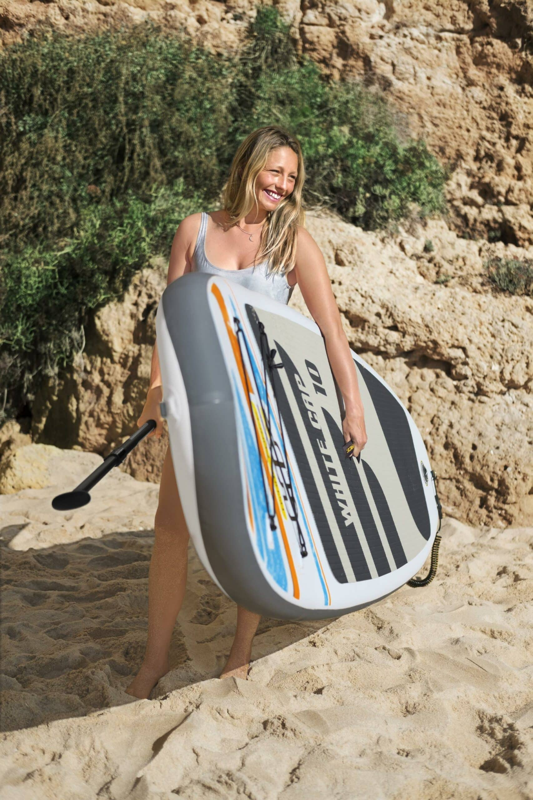 White Cap Paddle Board Sup Brett