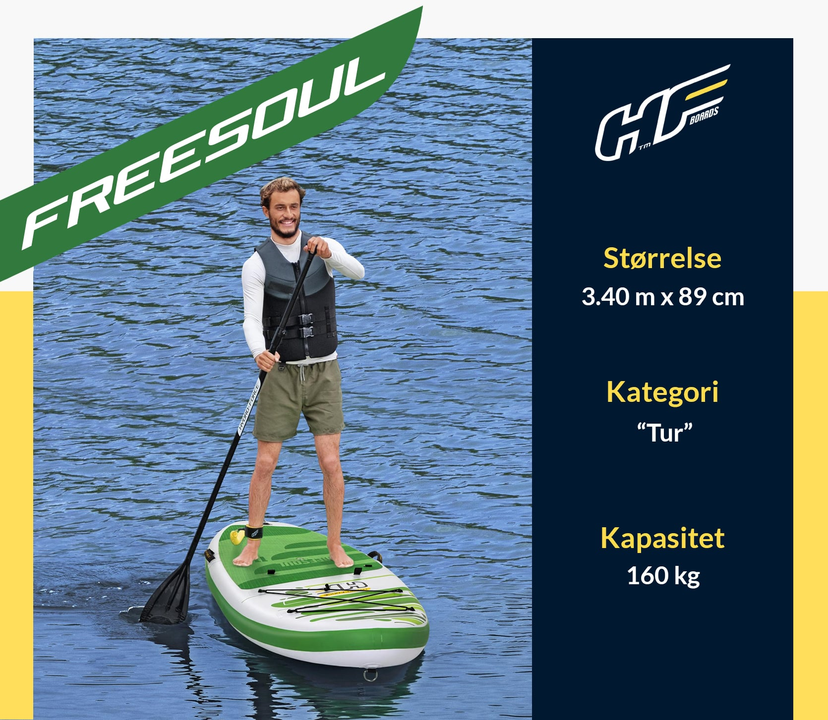 Freesoul Hydro-Force Stand Up Sup Brett