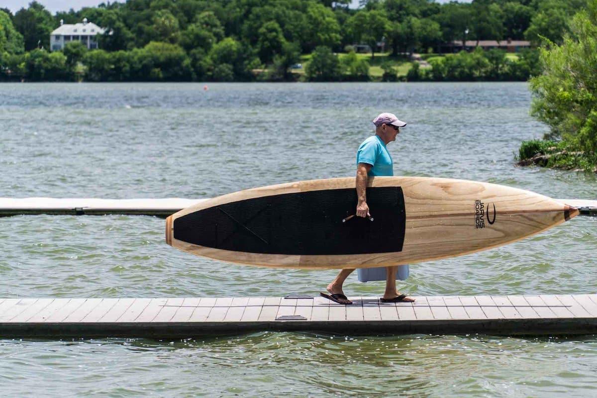 Paddle Board laget av tre