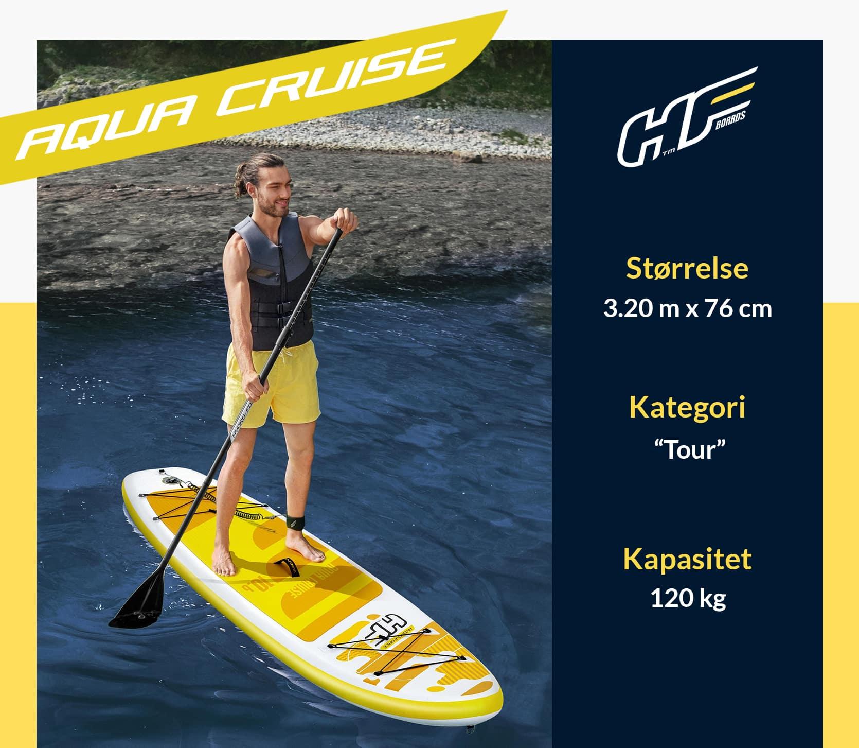 Hydro-Force Aqua Cruise Sup brett PaddleBoard